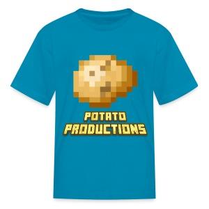 Potato Productions Logo T-Shirt (Kids) - Kids' T-Shirt