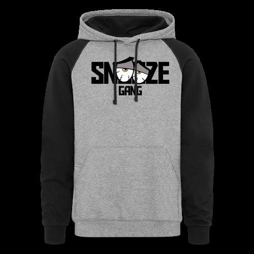 Snooze Gang Hoodie [Color Sleeves] - Colorblock Hoodie