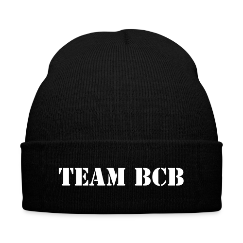 Team BCB Beanie - Knit Cap with Cuff Print