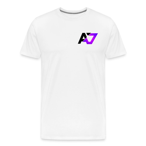 A7 Logo Slice Purple - Men's Premium T-Shirt
