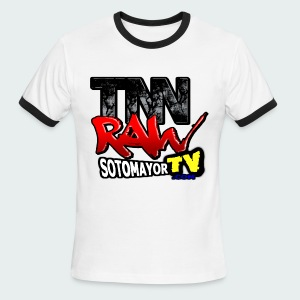 TNN Raw Reboot - Men's Ringer T-Shirt