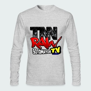 TNN Raw Reboot - Men's Long Sleeve T-Shirt by Next Level