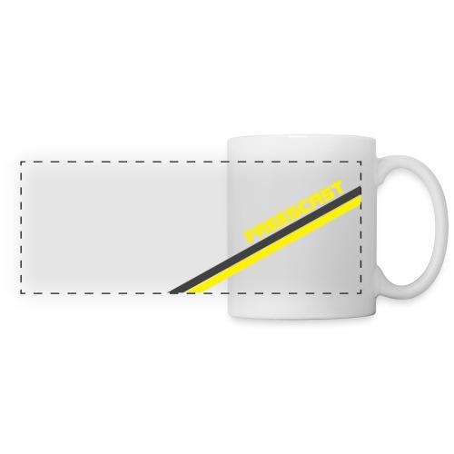 Freescast Panoramic Mug (Yellow) - Panoramic Mug