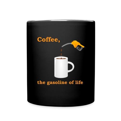 Coffee, the gasoline of life Mug 2 - Full Color Mug