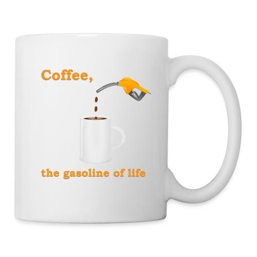 Coffee, the gasoline of life Mug - Coffee/Tea Mug
