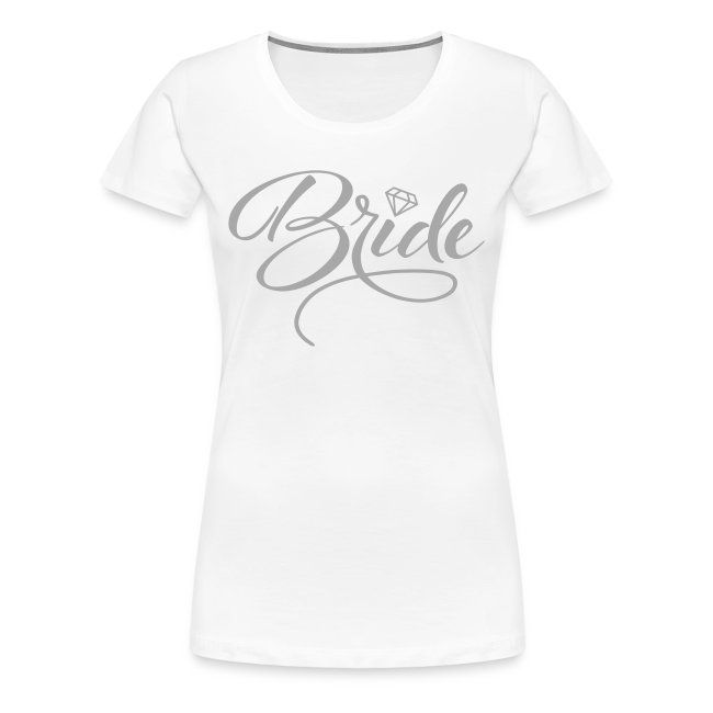 Bridal T Shirt Designs | Vintage Designer Tshirts Com Bride And Bride To Be Women S