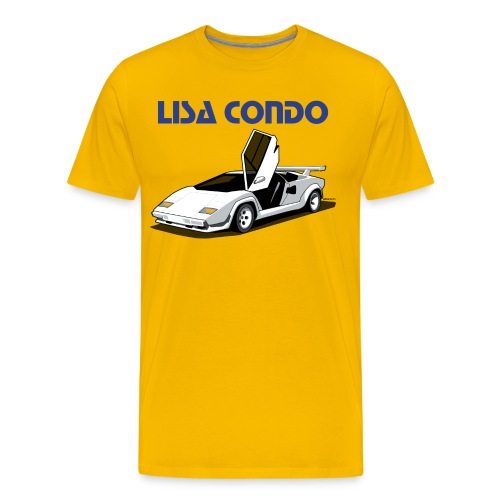 Lisa Lamborghini - Men's Premium T-Shirt