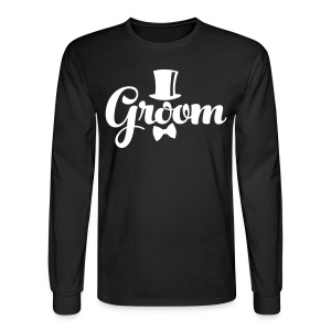 Groom - Groom's Apparel - Men's Long Sleeve T-Shirt