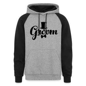 Groom - Groom's Apparel - Colorblock Hoodie