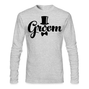 Groom - Groom's Apparel - Men's Long Sleeve T-Shirt by Next Level