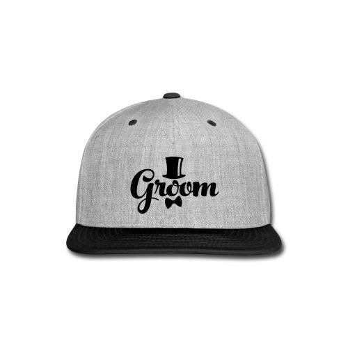 Groom - Groom's Apparel - Snap-back Baseball Cap