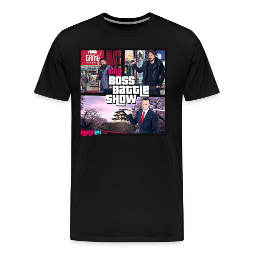 The Boss Battle Show  - Men's Premium T-Shirt