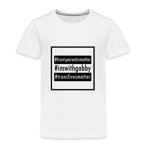 Toddler White - Equal - Toddler Premium T-Shirt
