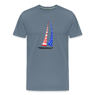 T-Shirts ~ Men's Premium T-Shirt ~ Sailing America