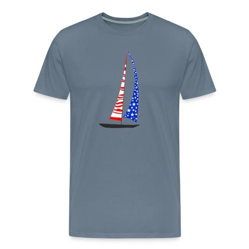 Sailing America - Men's Premium T-Shirt