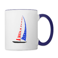 Mugs & Drinkware ~ Contrast Coffee Mug ~ Sailing America
