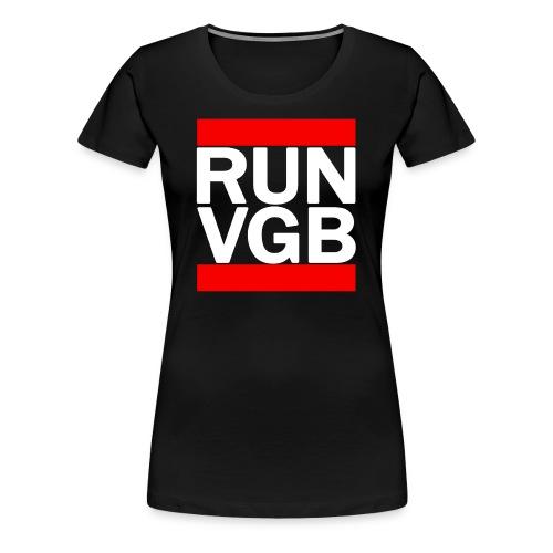 Woman's RUN VGB - Women's Premium T-Shirt