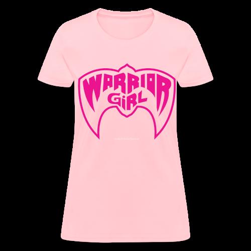 Official Warrior Girl Women's Shirt - Women's T-Shirt