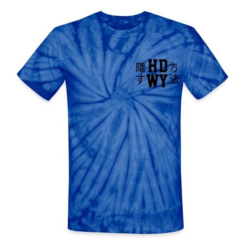 Japanese HDWY Tie Dye - Unisex Tie Dye T-Shirt