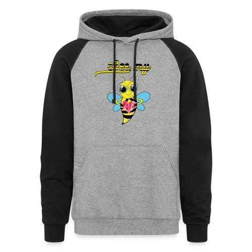 Bee My Love  - Colorblock Hoodie