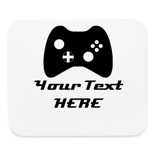 Mouse Pad Your With Your Text - Mouse pad Horizontal