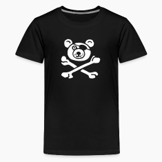 Teddy the Pirate for Blac Kids' Shirts