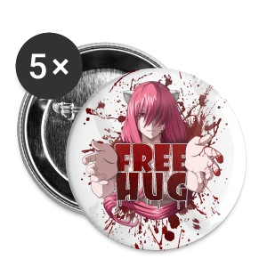 Free Hug - Large Buttons