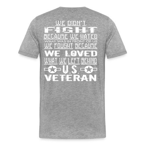 Veteran Pride - Men's Premium T-Shirt