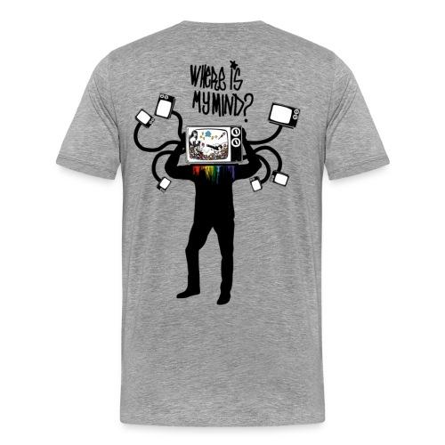 Where is my Mind - Men's Premium T-Shirt