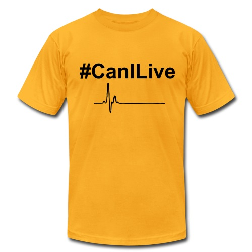 Men's Fine Jersey T-Shirt - Change Up Brings the new wave #CanILive shirt. Be free, live life the way it was intended. Let's all live together, let our differences make the world better as we all bring something to the table.