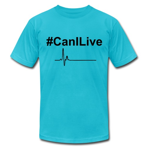Men's  Jersey T-Shirt - Change Up Brings the new wave #CanILive shirt. Be free, live life the way it was intended. Let's all live together, let our differences make the world better as we all bring something to the table.
