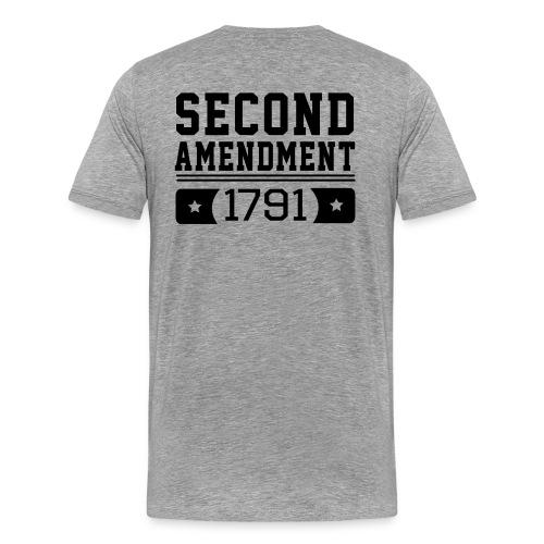 Second Amendment - Men's Premium T-Shirt