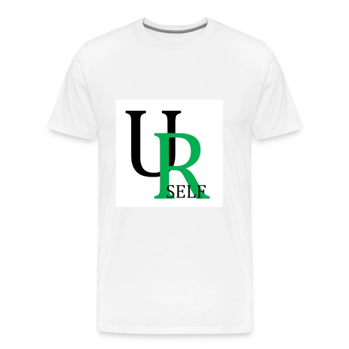 Men's Premium White T-Shirt - Men's Premium T-Shirt
