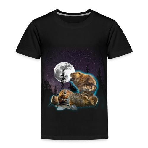Majavaton Marraskuu Toddler T-shirt - Toddler Premium T-Shirt