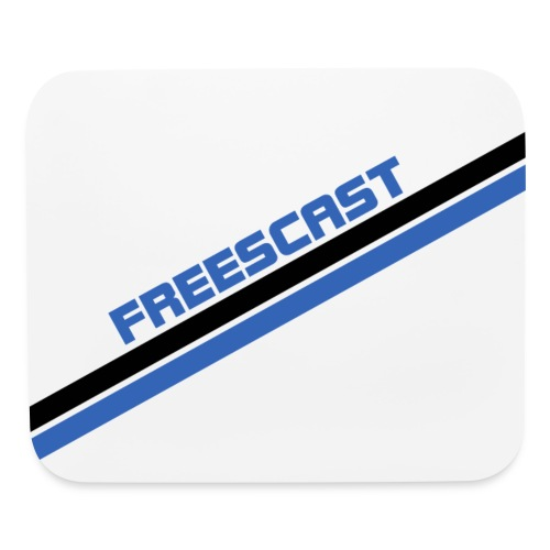 Freescast Mouse Pad (Blue) - Mouse pad Horizontal