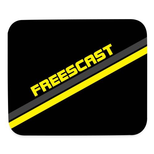 Freescast Mouse Pad (Yellow) - Mouse pad Horizontal