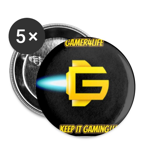 Gamer4life Buttons - Buttons small 1'' (5-pack)