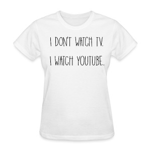 YouTube Women's Tee - Women's T-Shirt