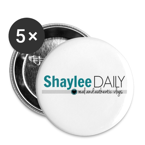 ShayleeDaily Buttons - Large Buttons
