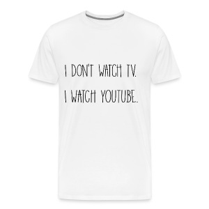 YouTube Men's TEE - Men's Premium T-Shirt