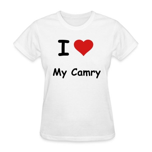 I Love My Camry Womens T-Shirt - Women's T-Shirt