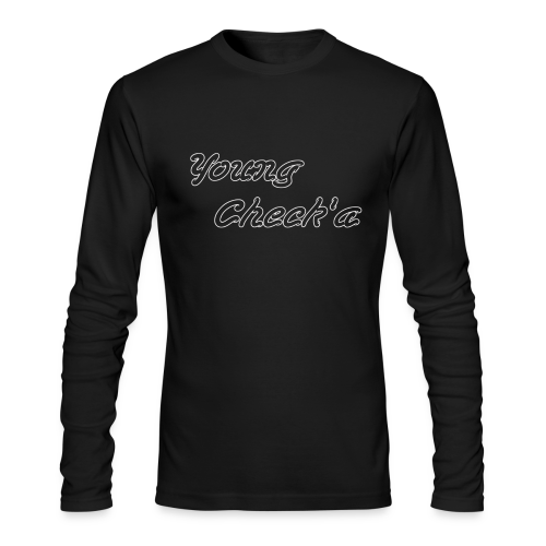 Young Check'a Logo - Men's Long Sleeve T-Shirt - Men's Long Sleeve T-Shirt by Next Level