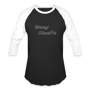 Young Check'a Logo - Men's Baseball T-Shirt - Baseball T-Shirt