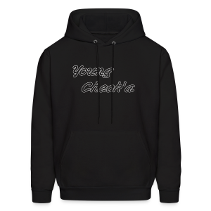Young Check'a Logo - Men's Hoodie - Men's Hoodie
