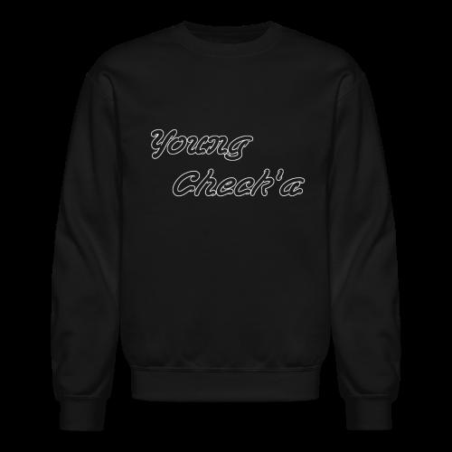 Young Check'a Logo - Unisex Crew Neck Sweatshirt T-Shirt - Crewneck Sweatshirt