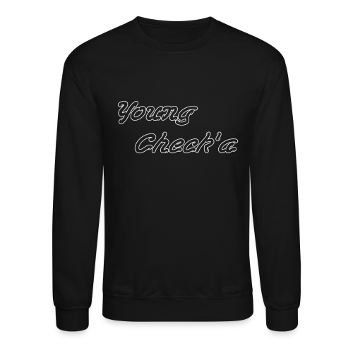 Young Check'a Logo - Unisex Crew Neck Sweatshirt T-Shirt - Crewneck Sweatshirt