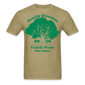 Custom Family Reunion Shirts - Men's T-Shirt