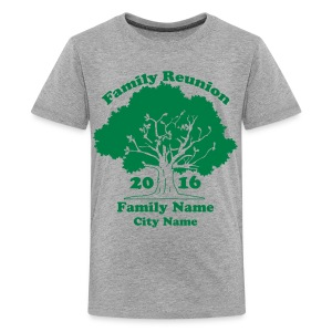 Custom Family Reunion Shirts - Kids' Premium T-Shirt