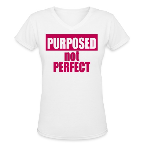 Purposed Tee (Women's) - Women's V-Neck T-Shirt