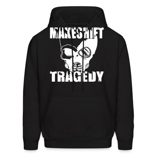 White Skull Logo - Men's Hoodie